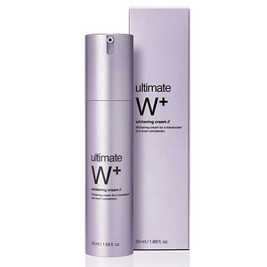 Ultimate W + Whitening cream